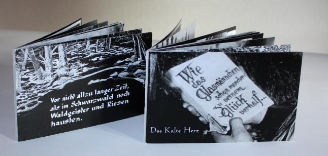 Zwei Postkartenserien mit Bildern aus dem Film sowie Making Of.