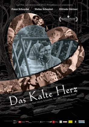 """Das offizielle Filmplakat von """"DAS KALTE HERZ"""", gestaltet von Simon Häberli (lockedesign.ch)"""