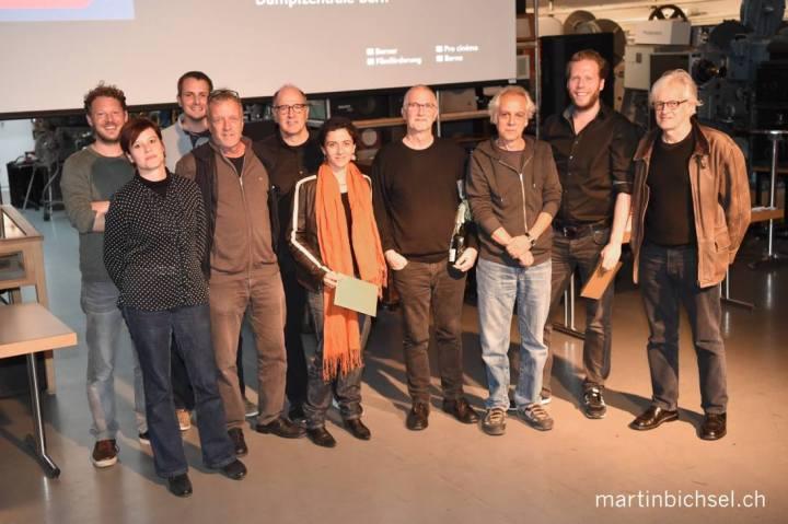 Gruppenfoto beim Berner Filmpreis Festival: Die Gewinner 2016!