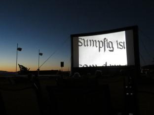 Vorpremiere am Openair Kino in Schöftland am 28. August 2016.