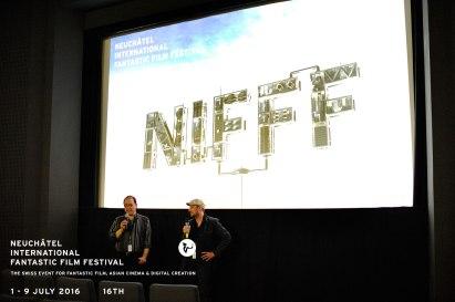Robert Israel an der Weltpremiere von DAS KALTE HERZ am NIFFF 2016.