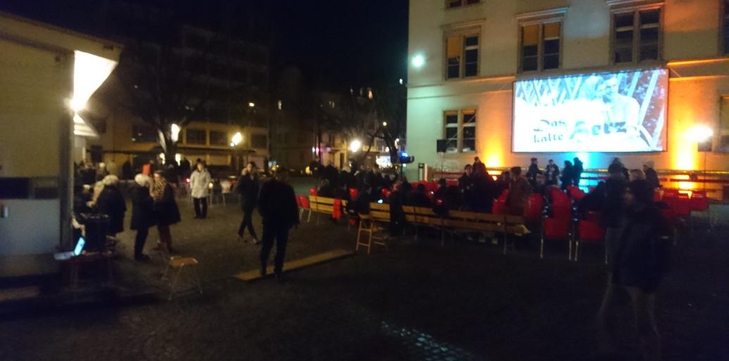 Weichnachtskino beim Xenix, Zürich 24.12.2016