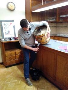 Das Bier aus dem Film: Die Brauerei Tucher aus Nürnberg sponserte das Bier für das erste interne Screening vom 30. April 2016.