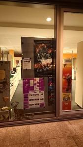 Sogar beim Tourismusbüro hängt ein Poster...:)