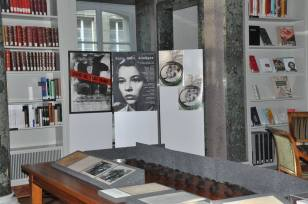 Ausstellung von Annelies Hüssy über Franz Schnyder.