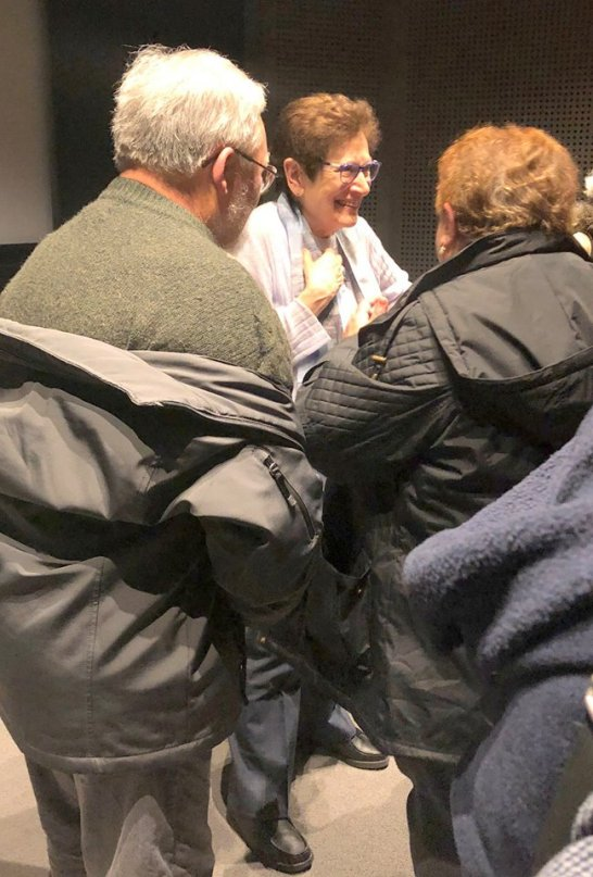 Ann Mottier-Schnabel at the screening of The Cold Heart. (c) Schnabel Music Foundation LLC