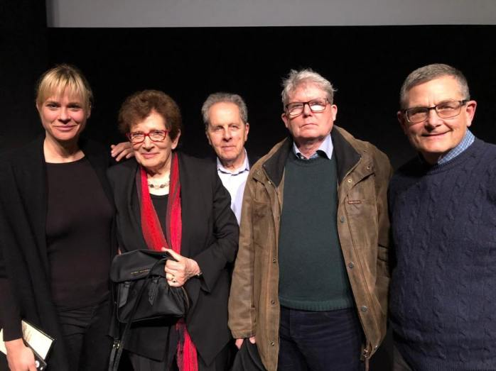 Sophie Lamparter, Ann and François Mottier, Peter and David Schnabel.